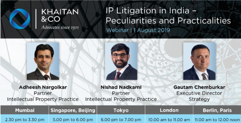 IP Litigation in India peculiarities and practicalities