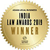 Asian Lega l Business India Law Awards 2019 Deal Firm of the Year