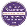 Asian-Mena Counsel Firm of the Year 2016