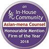 Asian-Mena Counsel Honourable Mention Compliance/ Regulatory