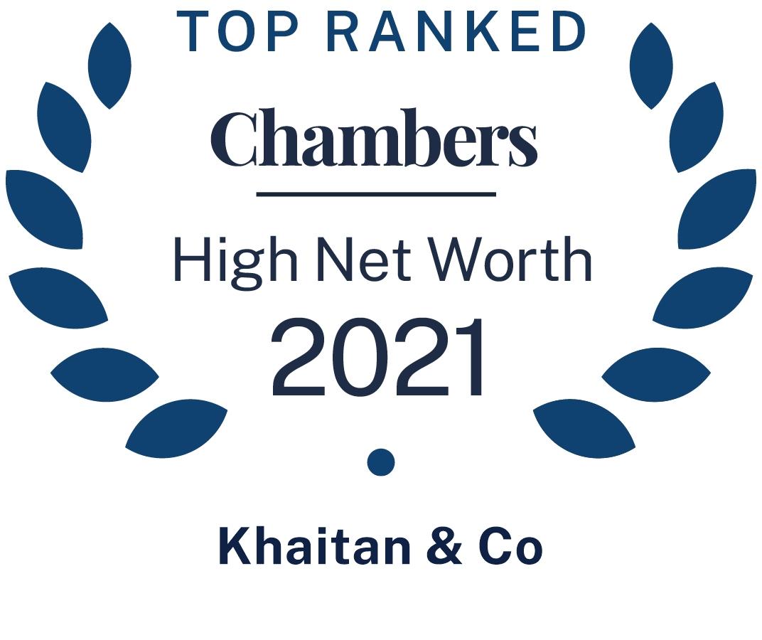 Chambers High Net Worth 2021
