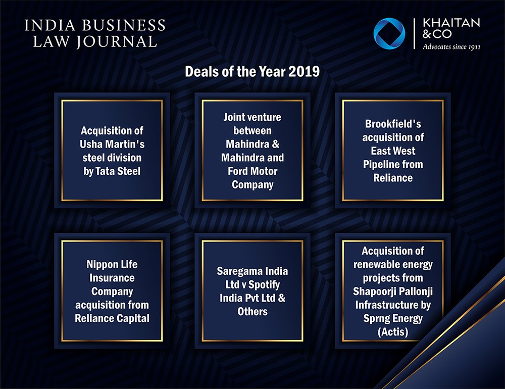 IBLJ – Deals of the Year 2019