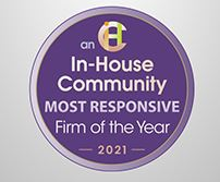 In-House Community Most Responsive Firm of the Year 2021
