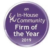 In-House Community Firm of the Year 2019