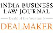 Indian Business Law journal Deals of the Year 2016