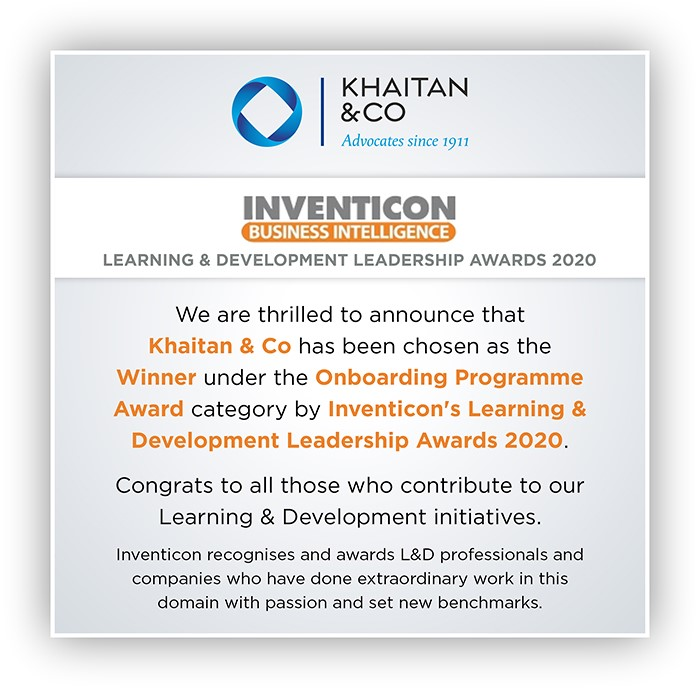 Learning & Development Leadership Awards 2020