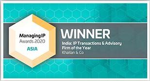 Managing IP Asia Awards 2020