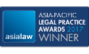 Asia law Asia-Pacific Legal Practice Awards 2017 Law Firm of the Year