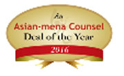 Asian-Mena Counsel Deal of the Year 2016