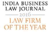 Indian Business Law journal Awards 2016